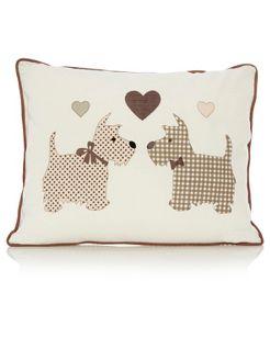 Asda Com In The Uk Dog Cushions Applique Cushions Scottie Dog