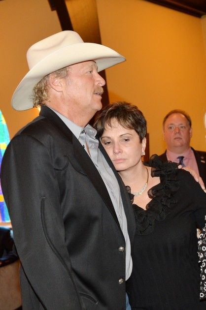 Nancy Jones And Alan Jackson George Jones Memorial Service 2013