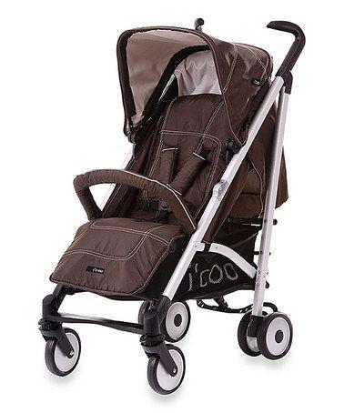 Brown I'coo Phoenix Stroller #zulily #zulilyfinds