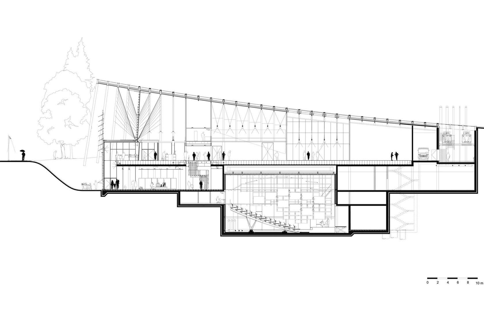 Zentrum Paul Klee, Bern (2005), Renzo Piano