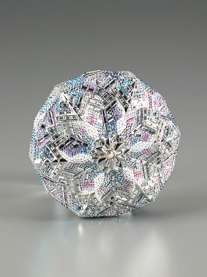 Snowflake Minaudiere by Judith Leiber