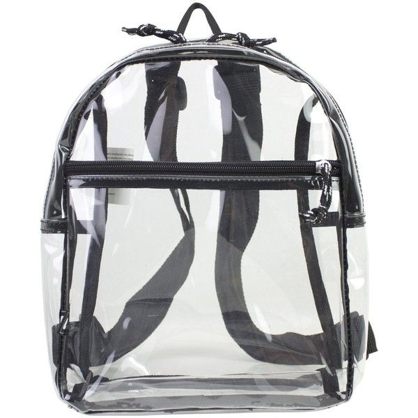 Eastsport Clear Mini Backpack (130 ARS) ❤ liked on Polyvore featuring bags, backpacks, miniature backpack, sport bag, white bag, eastsport backpack and knapsack bag