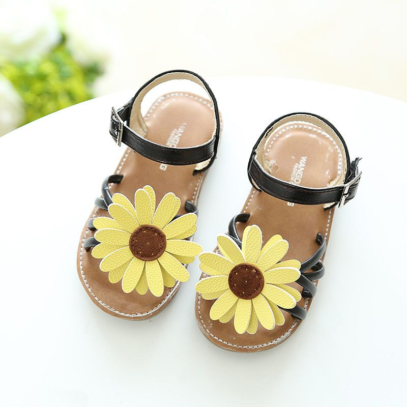 New Baby Girls Sandals Kids Princess Shoes for Summer Toddler Beach Sandals