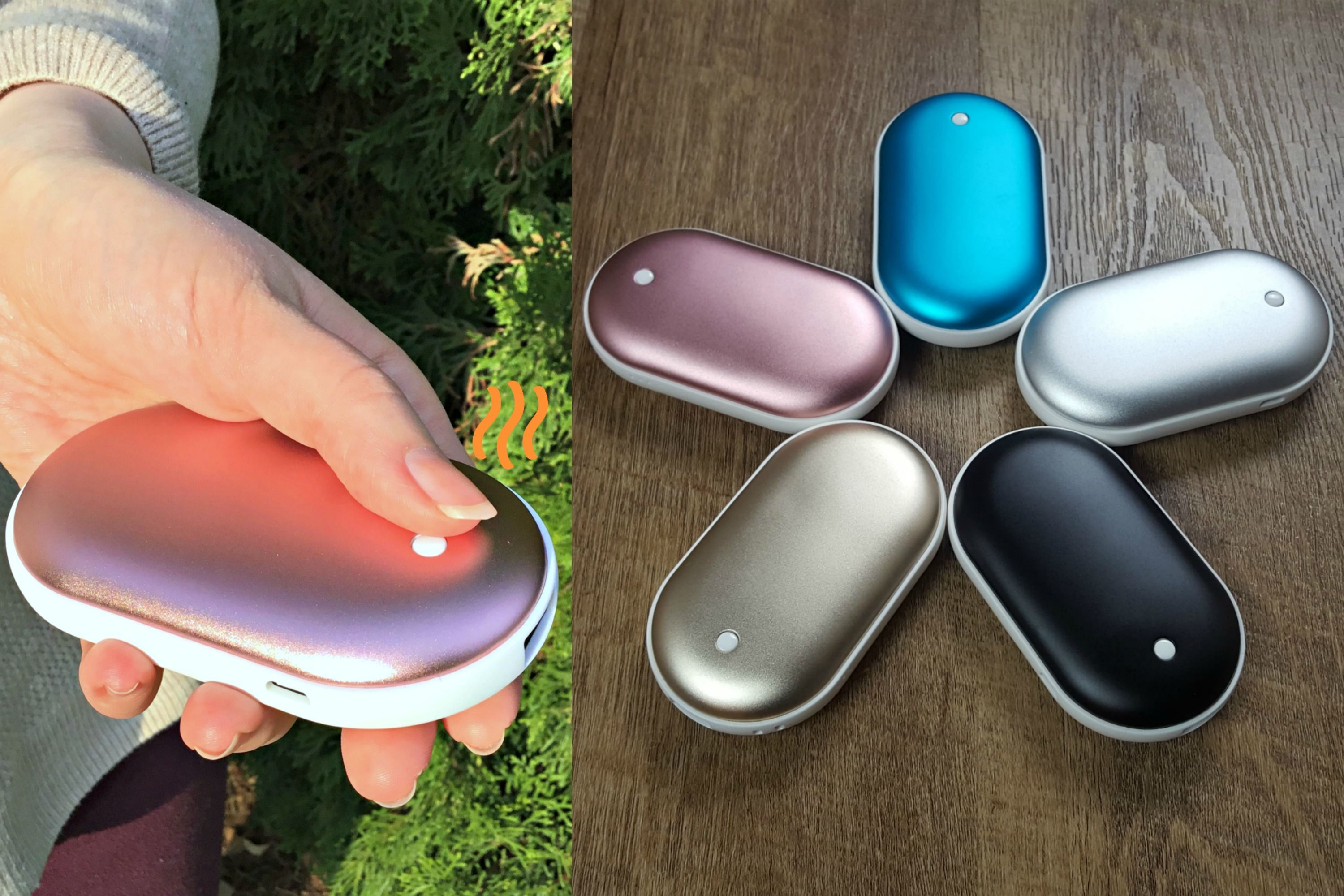 Rechargeable Hand Warmer Tired Of Buying Those Hand Warmers For One