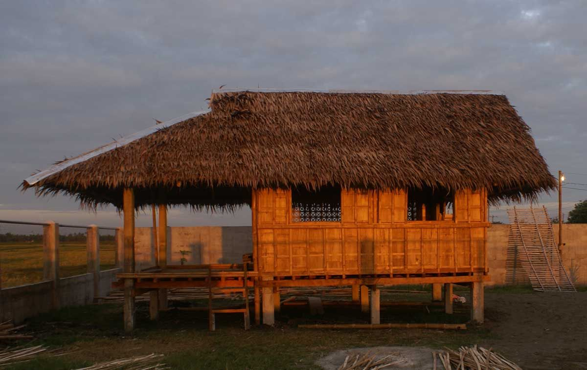 We Build A Bahay Kubo Bamboo Native Style Guest House In Tigbauan