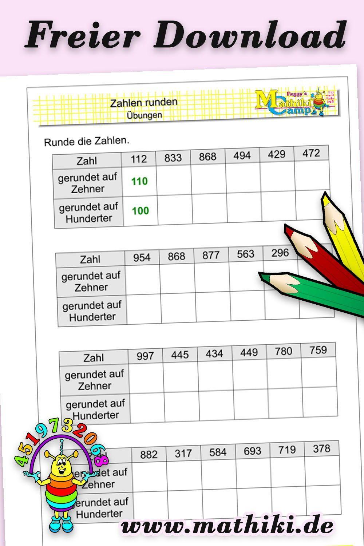 Tausendertafel 3 Klasse : Leporello Tausenderbuch Teil 2 ...
