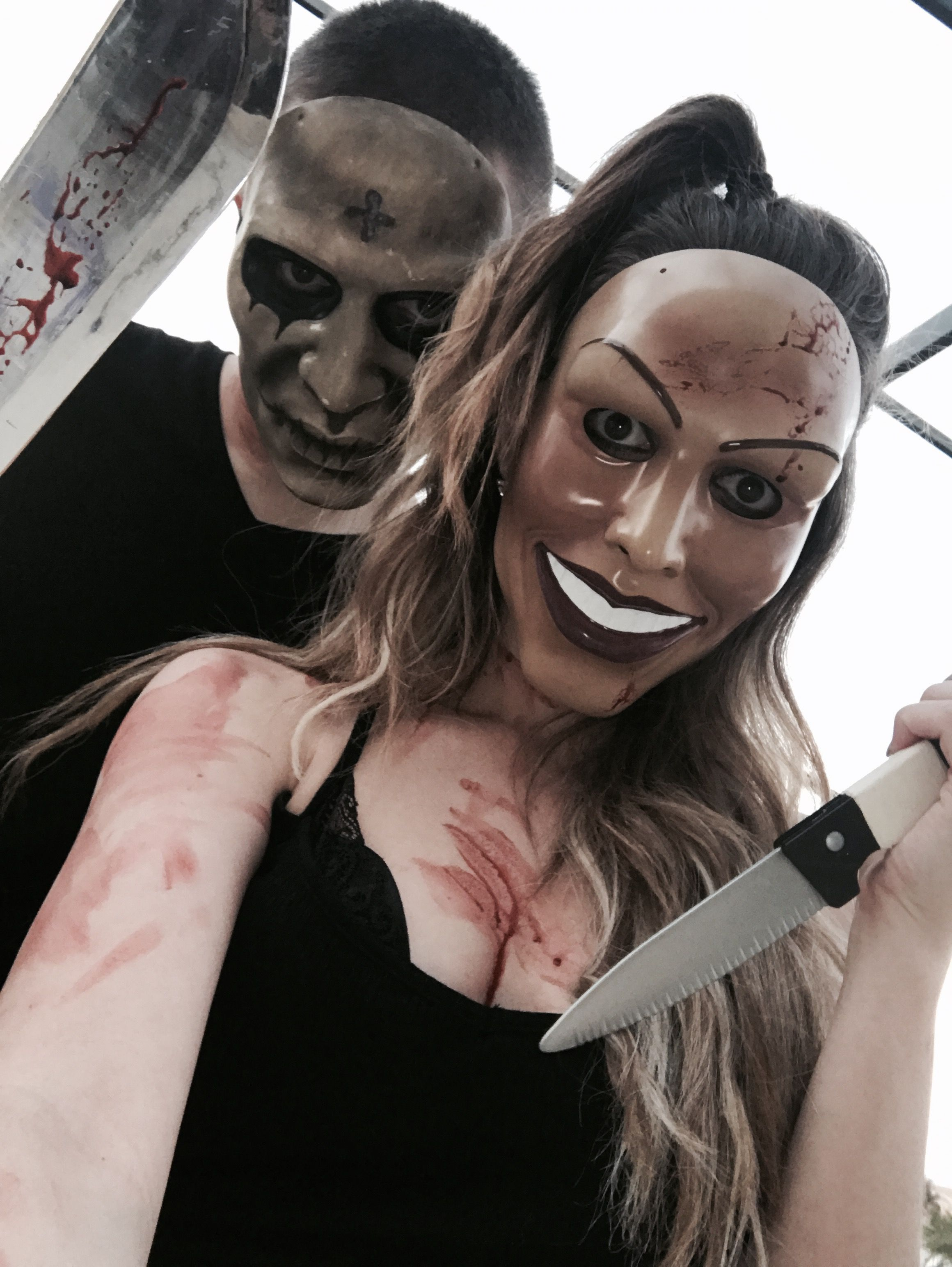 purge #halloween #costume #couple | halloween in 2018 | pinterest