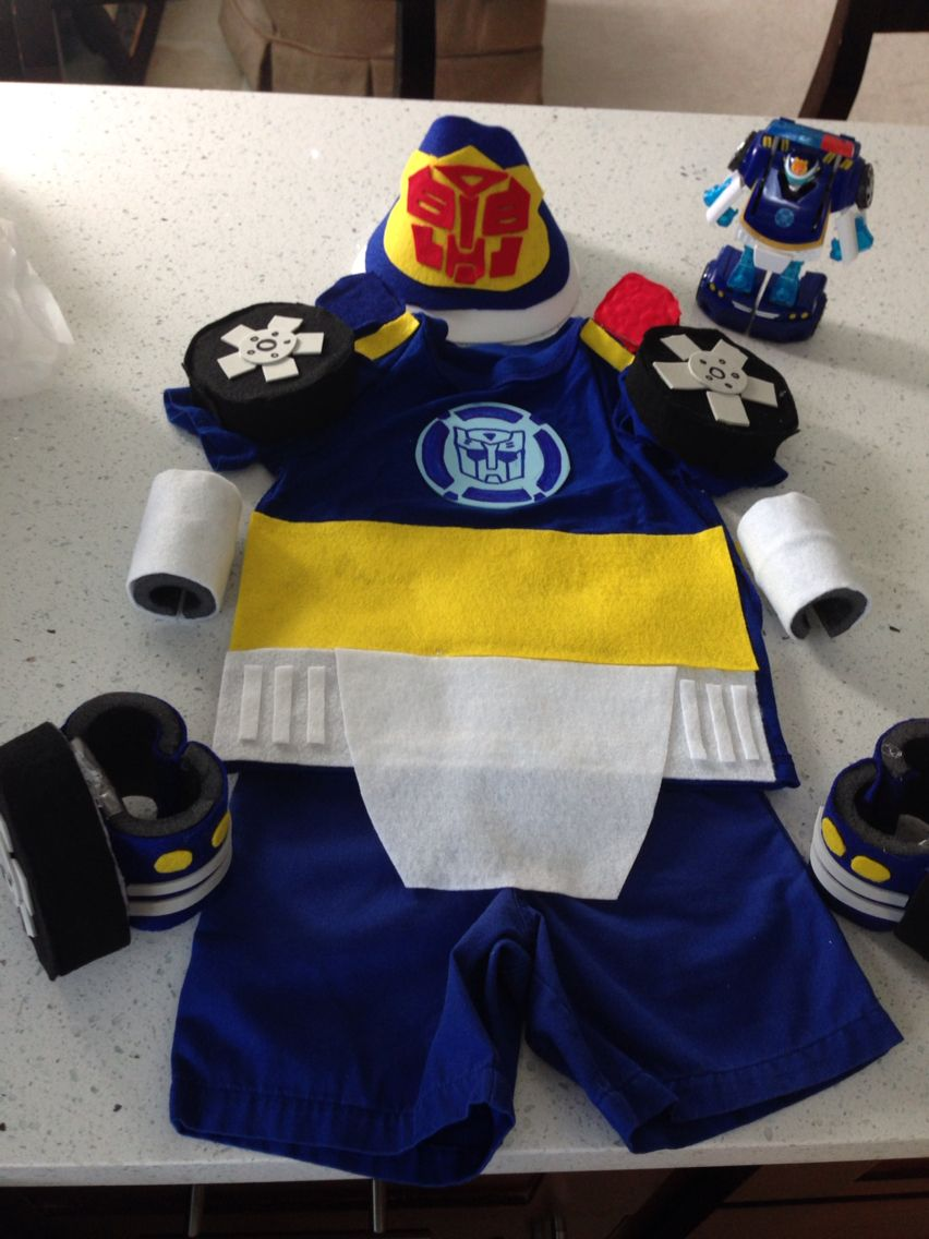 Transformer Rescue Bot Costume - Heatwave - Child Size (4-6 ...