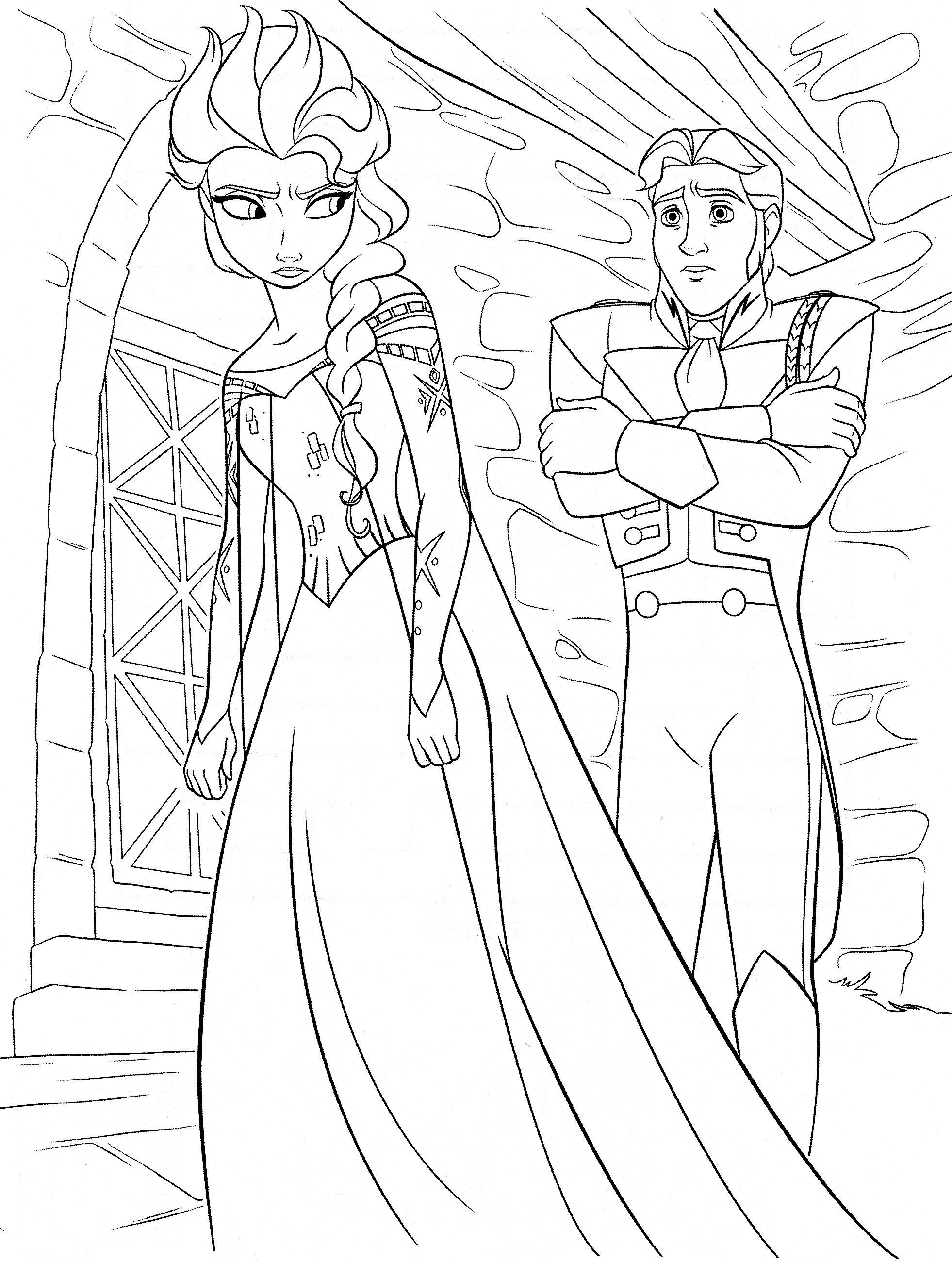 Ausmalbilder Frozen Elsa : Frozen Ausmalbilder Malvorlagen Zeichnung Druckbare N 65 Bilder