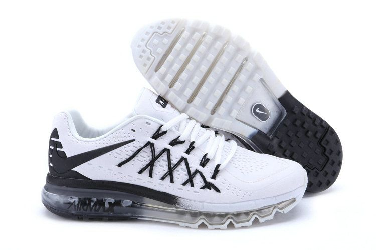 2018 Factory Authentic WMNS Nike Air Max 2015 Nano White Black ... 3be11c9c0c