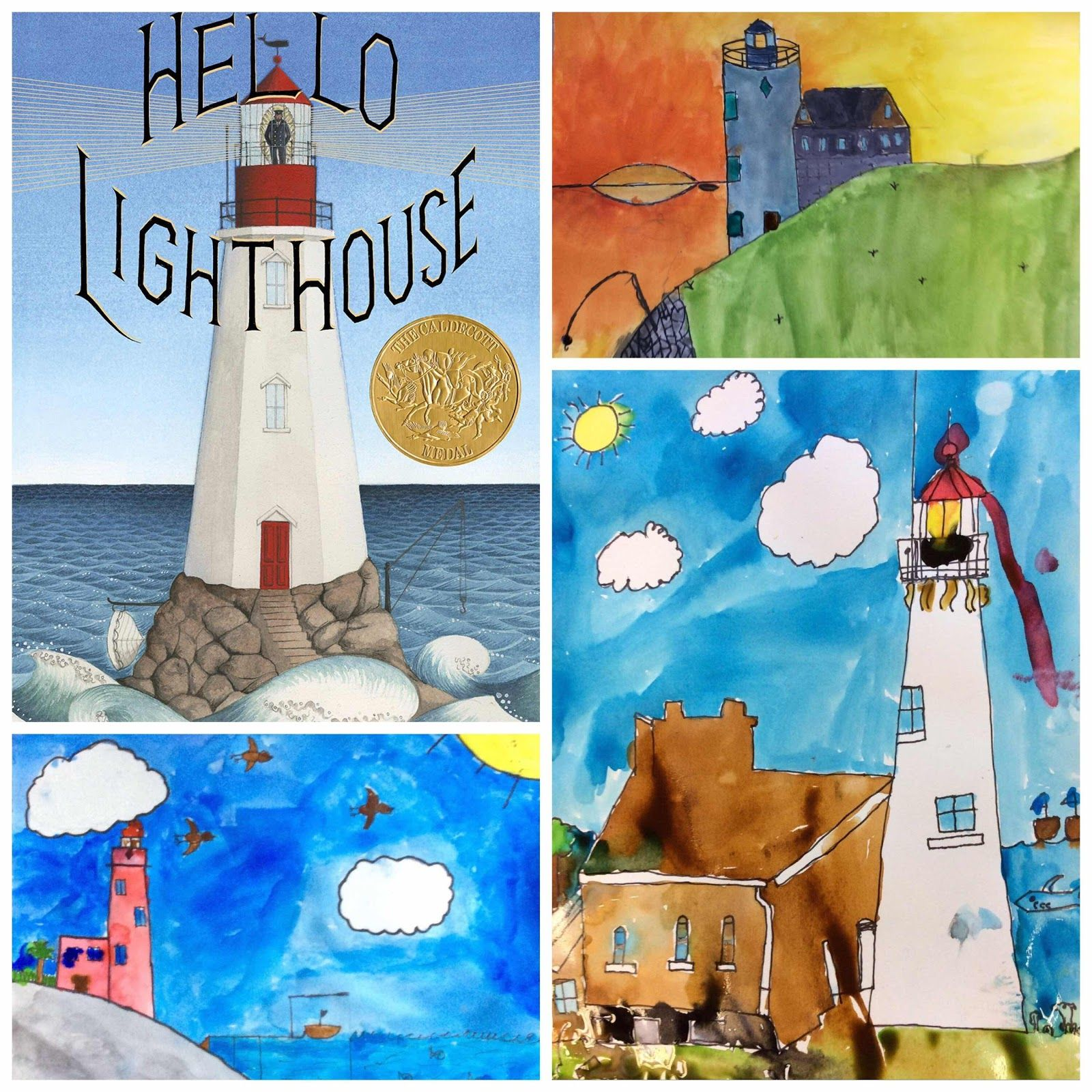 Lighthouse Landscapes, 4th grade The 5th of november