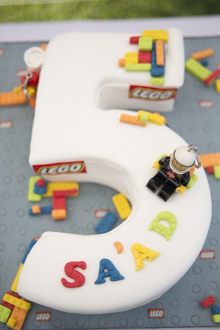 Lego Birthday Party Cake Lego Party Pinterest Lego birthday