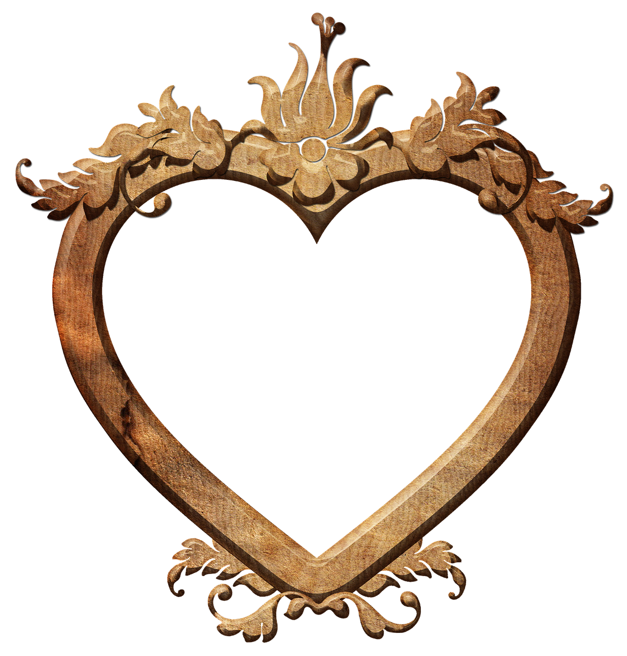 Frame, Heart, Love, Photo Frame, Transparent Background in ...