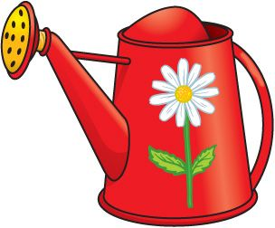 GARDEN_WATERING_CAN #clipart #patterns #colored #paintpatterns ...
