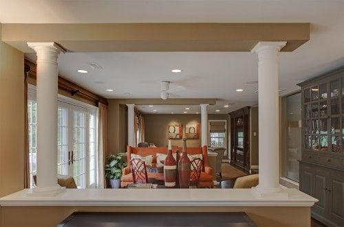 Pictures If Half Walls Between Kitchens And Living Rooms   Google Search Part 69