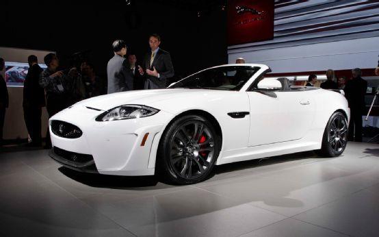 2012 Jaguar XKR-S Convertible Pre-Production First Drive ...