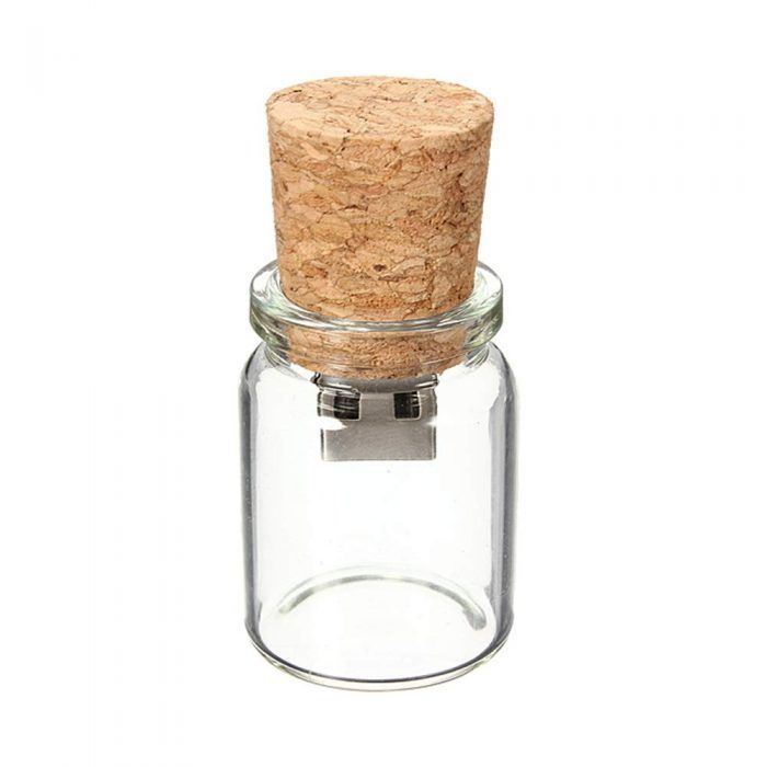 Cork Wedding Memory: Cute Bottle USB Flash Drive (7)