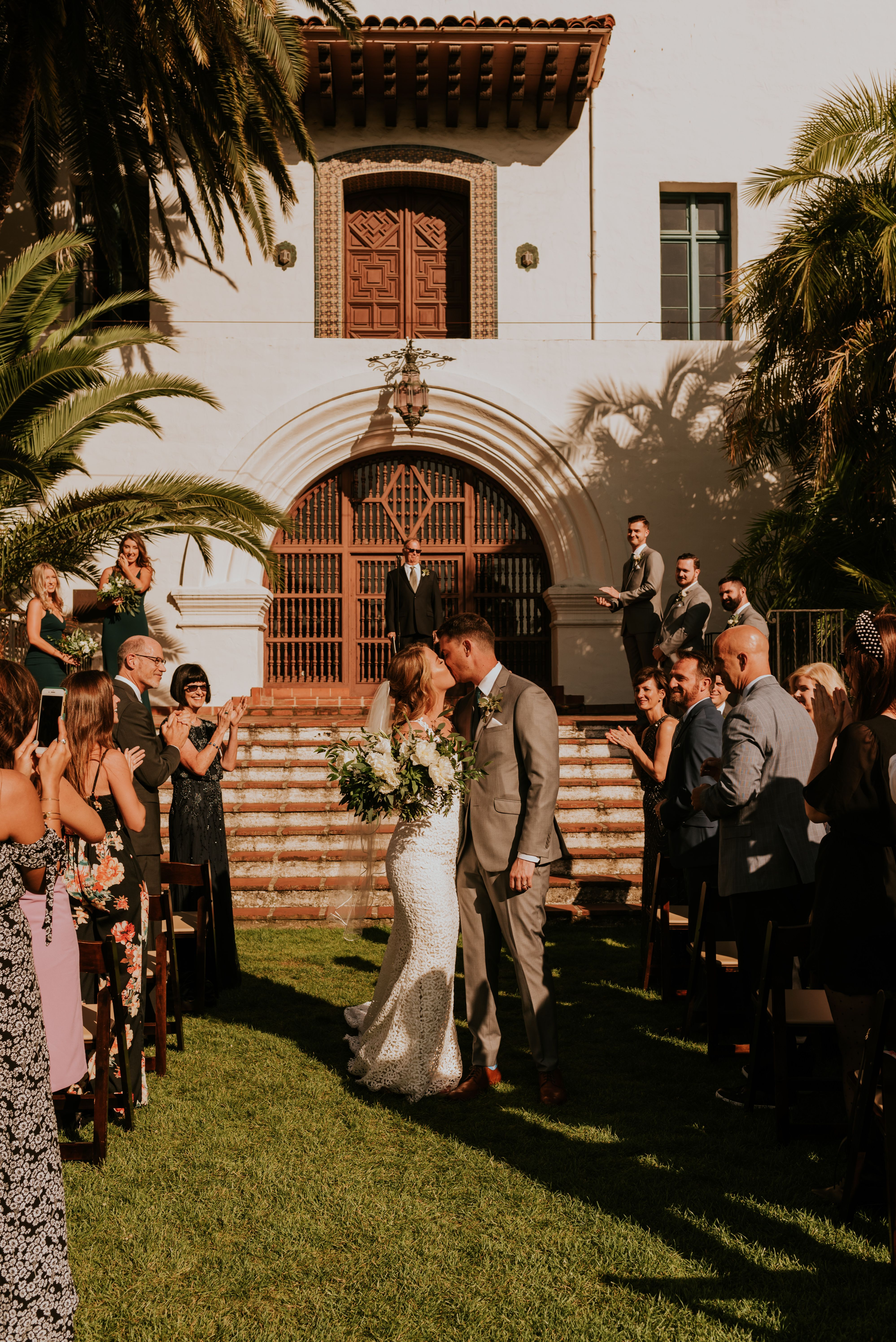 Santa Barbara Courthouse Canary Hotel Wedding Chynna Chris