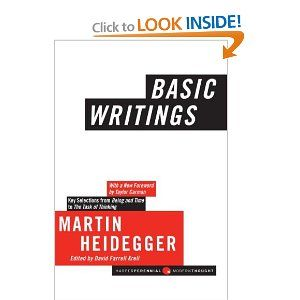 Robot Check Writing Martin Heidegger Reading Writing