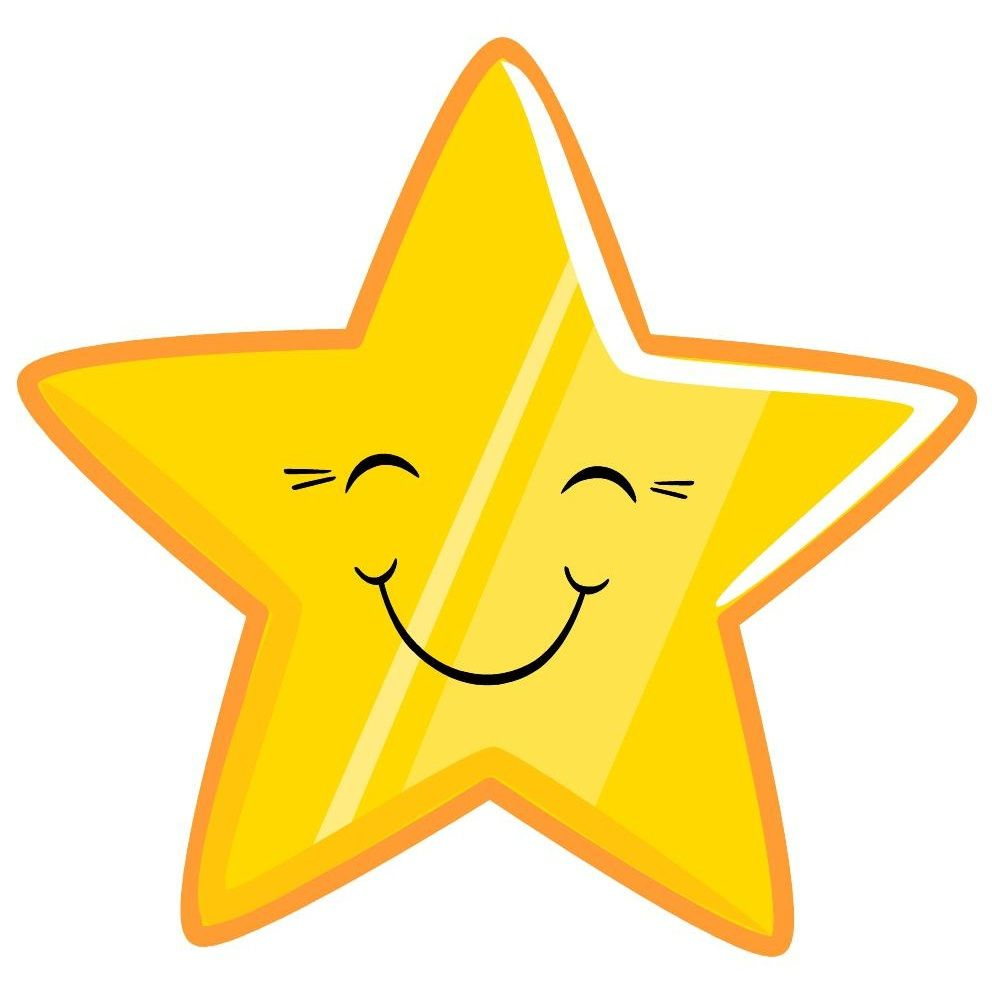 Smiley star | Star clipart, Animated smiley faces, Free clip art