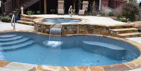 mountain stone pool coping