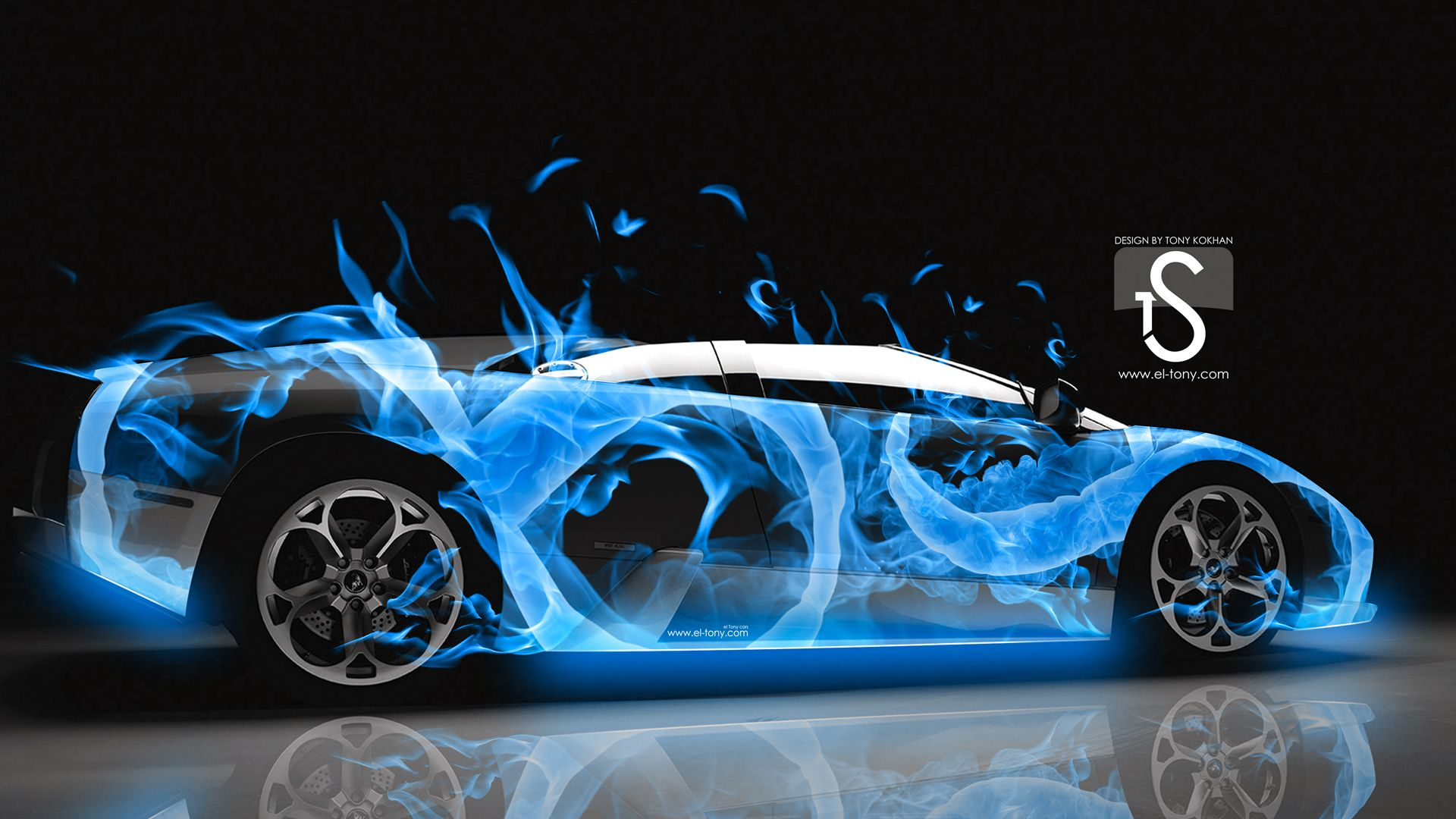 Awesome Lamborghini Murcielago Water