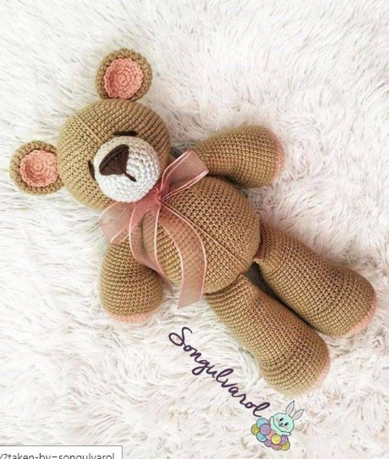 ŞAŞKINAYICIK TARİFİ Amigurumi Tarifi - Elişi deryası - Elişi deryası #teddybear