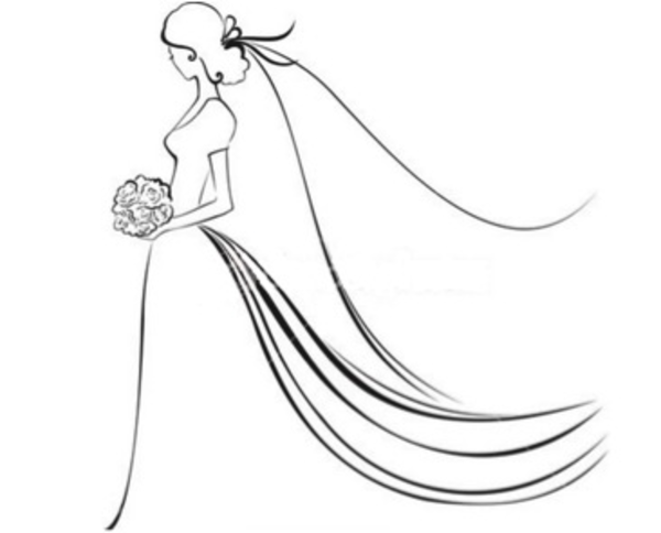 free bridal clipart images google search sketching pinterest rh pinterest com bride clipart bridal clipart images