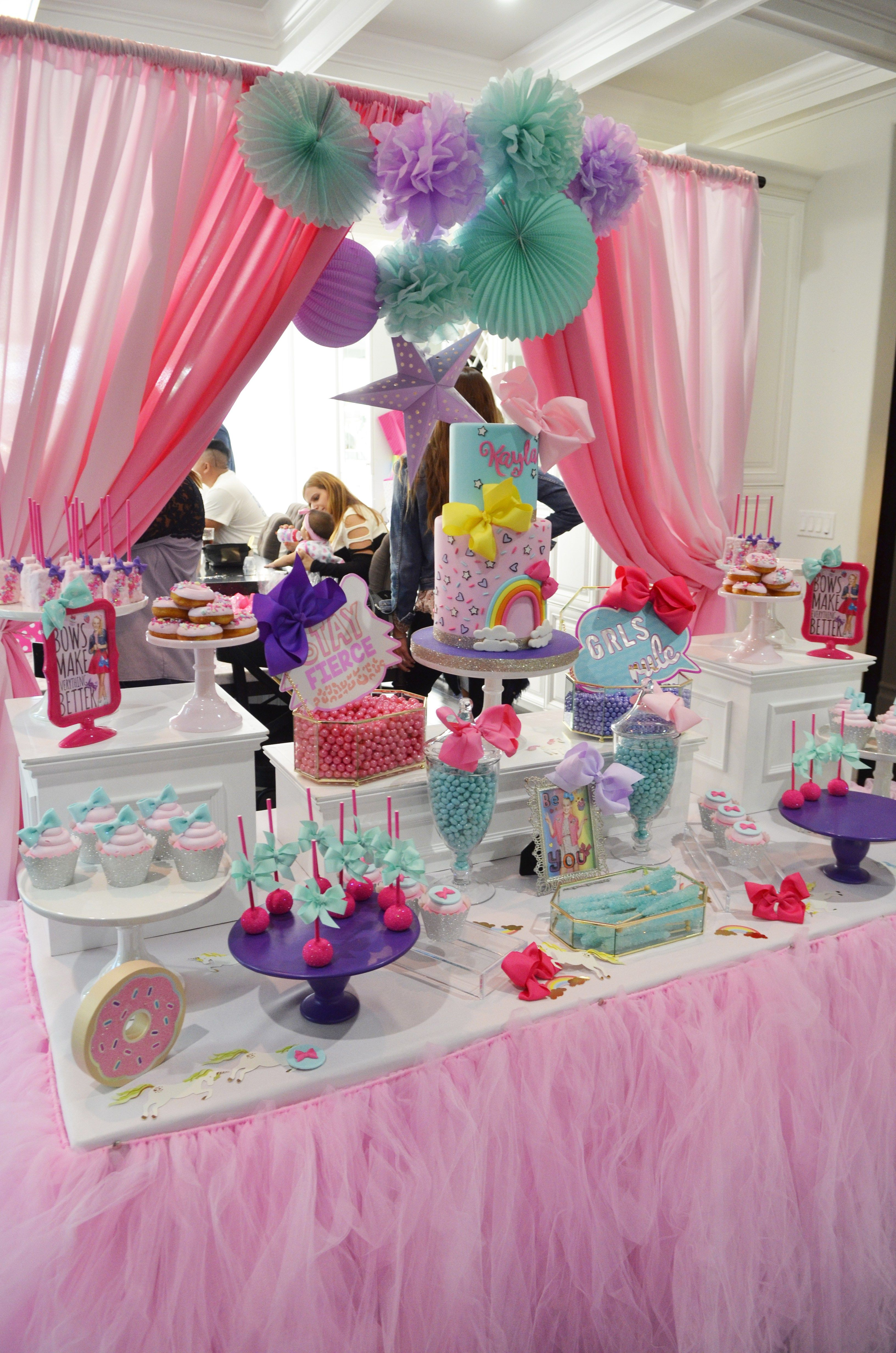 Jojo Siwa Birthday Party Ideas Decorations Games The Makeover Mom