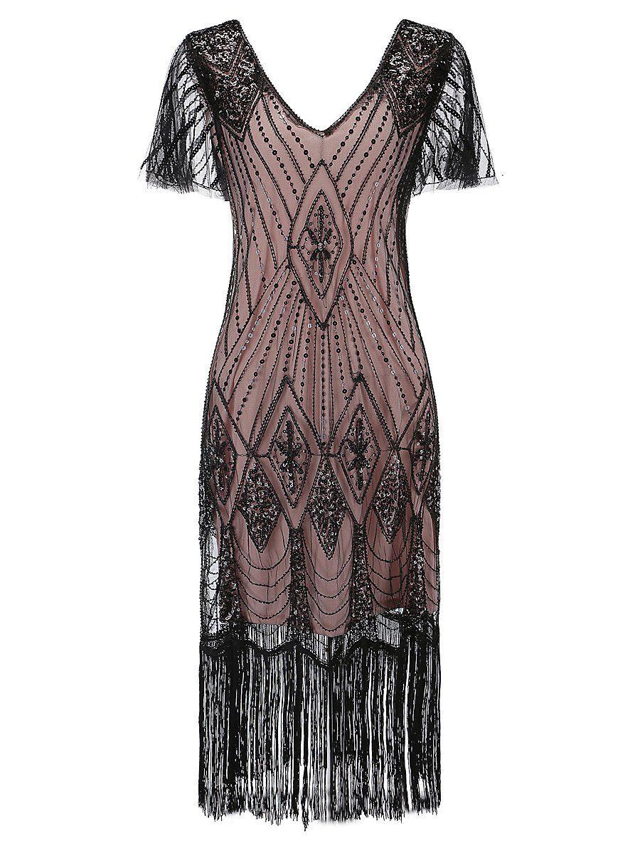 20er jahre charleston kleid grace in 2020 | charleston kleid