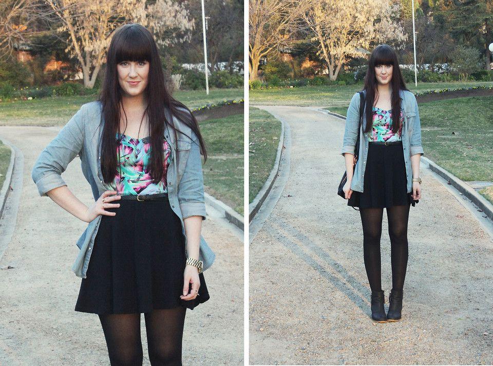 How To Style Skater Dress In Winter | Skater Skirts | Pinterest ...