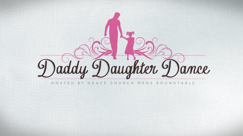Daddy Daughter Dance Invitations Grace Church Childrens Ministry