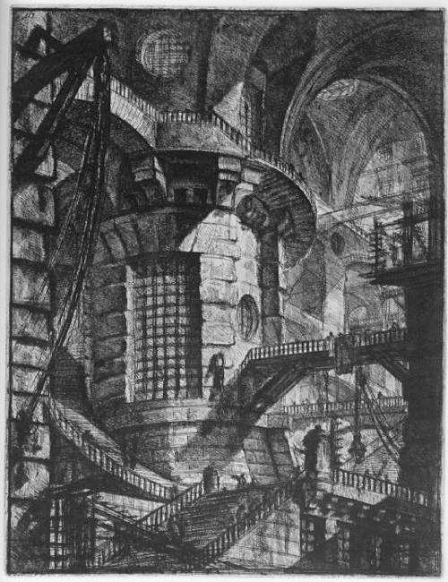 Giovanni Battista Piranesi, The Round Tower,