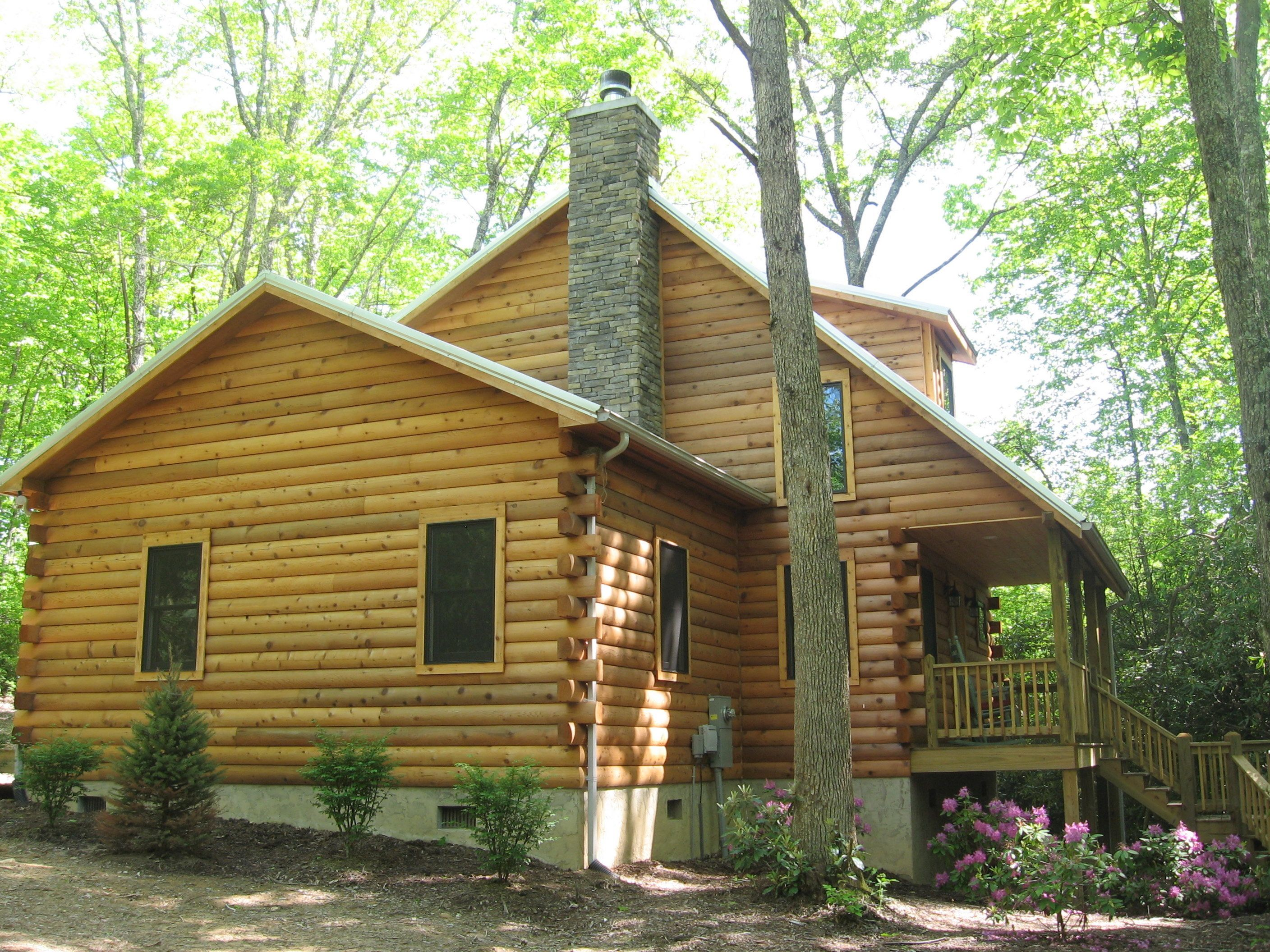ridge in nc rentals boone four outdoor cabins fireplace blue cabin vacation seaons