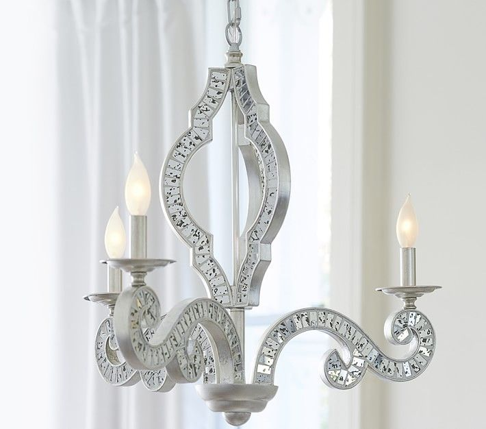 Mirrored chandelier chandeliers pinterest chandeliers mirror mirrored chandelier mozeypictures Gallery