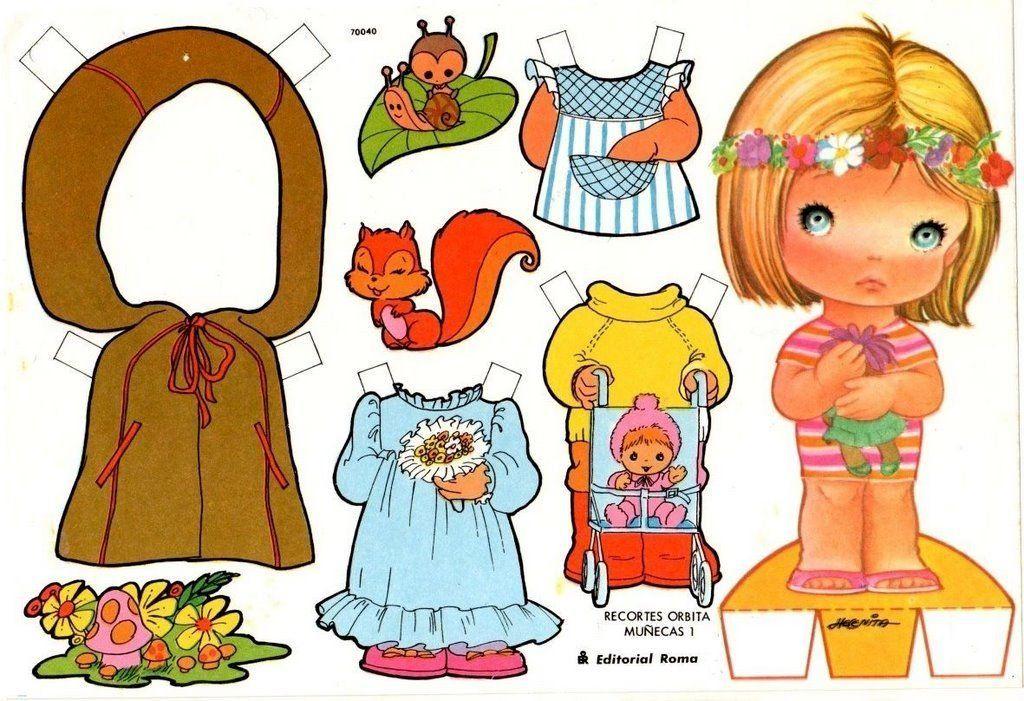 Apoyo Escolar Ing Maschwitz Recortables Para Vestir Muñequitas Muñecas De Papel Muñecas Recortables Sobres De Papel