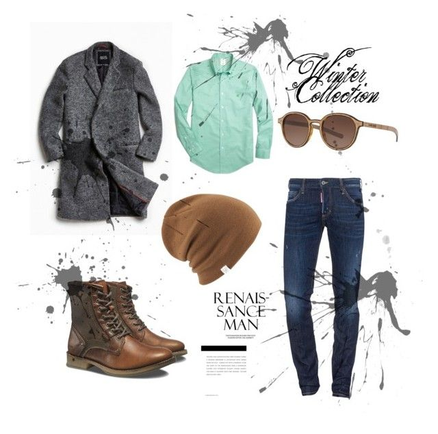 """""""#new_set_9"""" by benelux2 ❤ liked on Polyvore featuring Native Youth, Brooks Brothers, Dsquared2, Caterpillar, Giorgio Armani, Coal, men's fashion and menswear"""