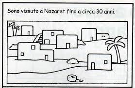 Risultati Immagini Per Casa Di Gesù Da Colorare библия дети