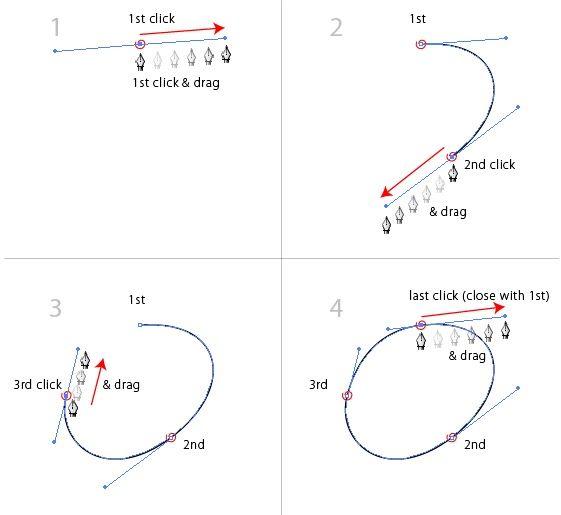 Illustrator - 07 Pen Tool | Vector Tips | design #1 | Pencil