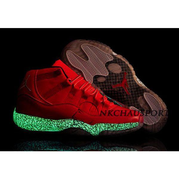 Nike Air Jordan 11   Classique Chaussure De Basket Homme Lumineuse ...