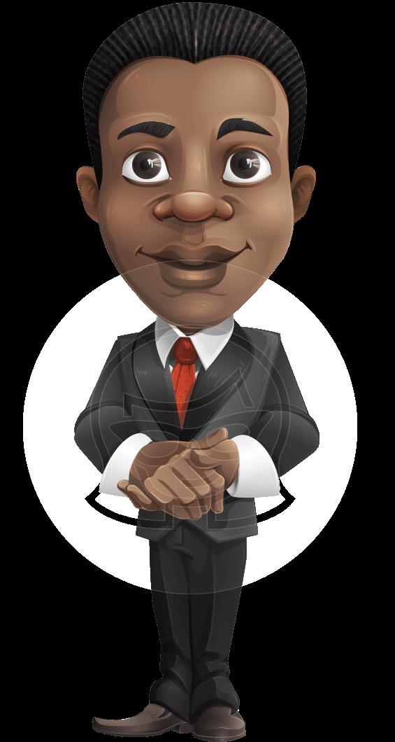 Vector Afro American Cartoon Character Set Graphicmama Character Animator Cc Cartoon Male Cartoon Characters