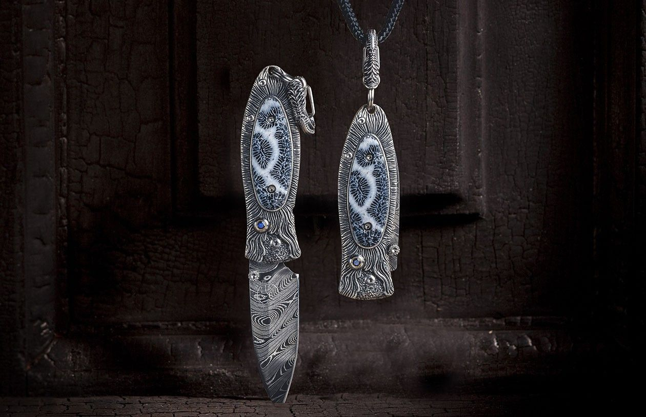 Morpheus Reef Pendant Knife William Henry Sterling Silver Pendants Functional Jewelry Jewelry Collection