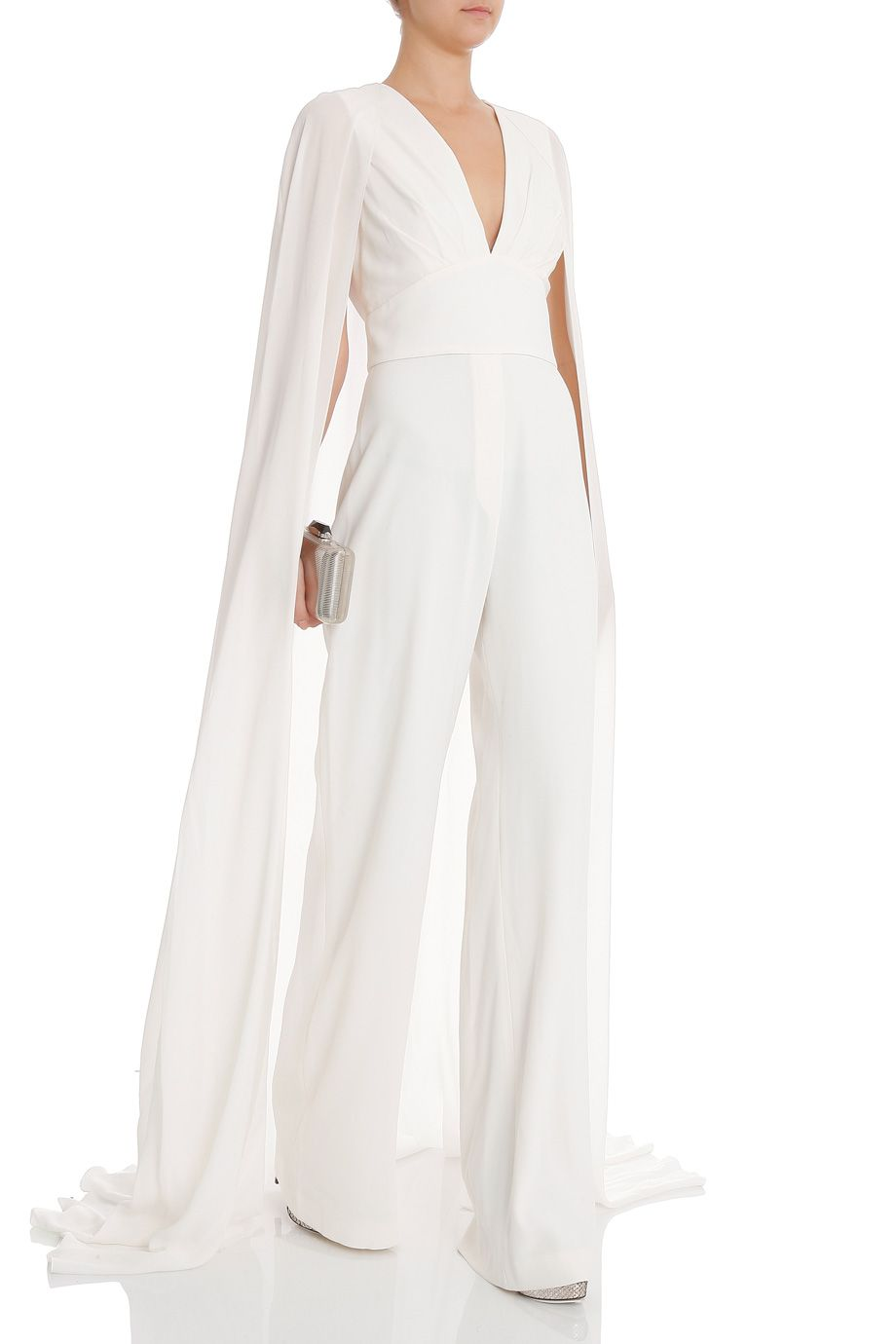 Image Result For Jumpsuit With Train Bridal Jumpsuit Wedding Pants