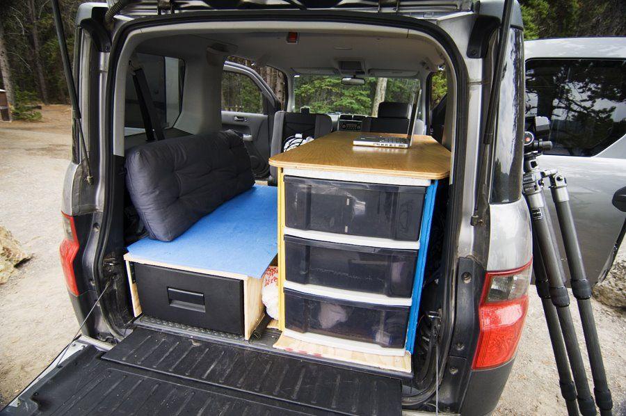 Honda Element Conversion >> Image Result For Element Camper Conversion Xc Honda Element