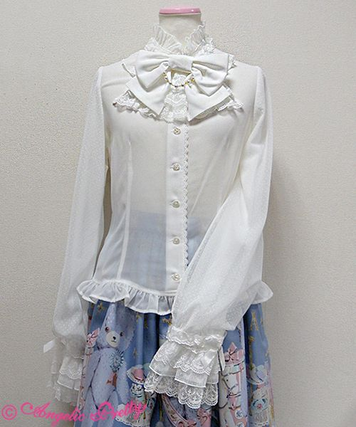 Angelic Pretty Lacy夜会ブラウス