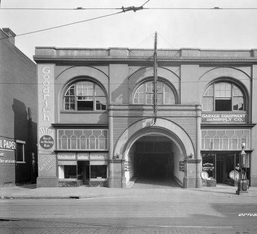 bosler garage louisville kentucky 1920 caufield shook collection historic photos. Black Bedroom Furniture Sets. Home Design Ideas