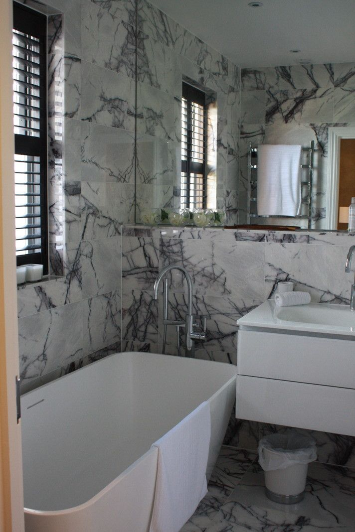Marble Tiles Flooring Mandarin Stone Marble Bathroom Calacatta Bathroom Renovation