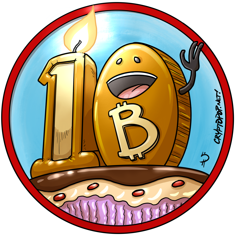 Happy 10th Bitcoin! Bitcoin, Happy, 10 things