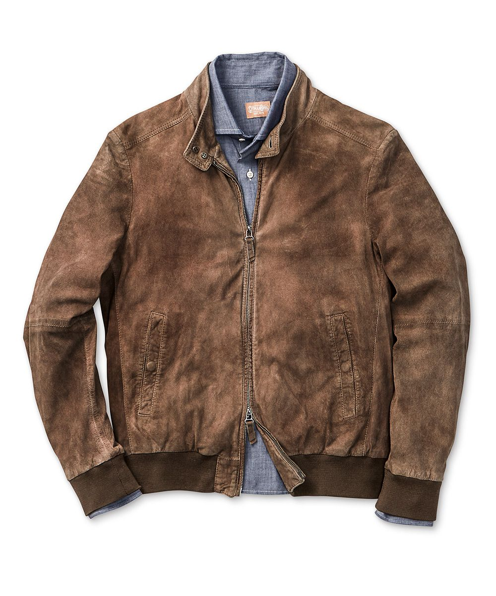 Gimo's Vintage Leather Bomber Jacket | General Clothing ...