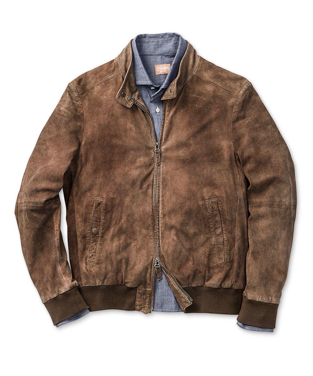 Leather and Twill Teamsters jacket gfLeraD